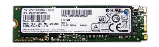 P: M.2 SSD Samsung 500GB