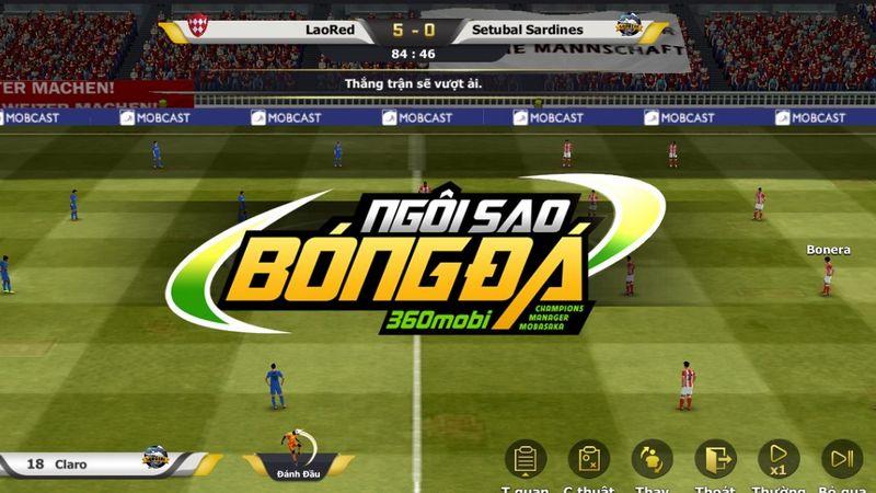game mobile, ngôi sao bóng đá, tải ngôi sao bóng đá