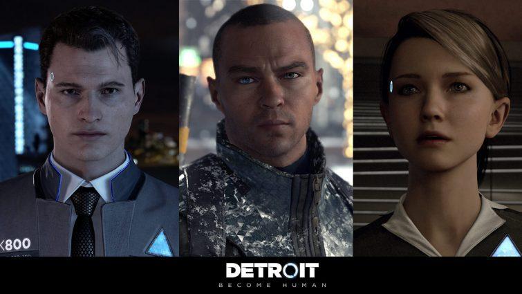 Los protagonistas de Detroit: Became Human