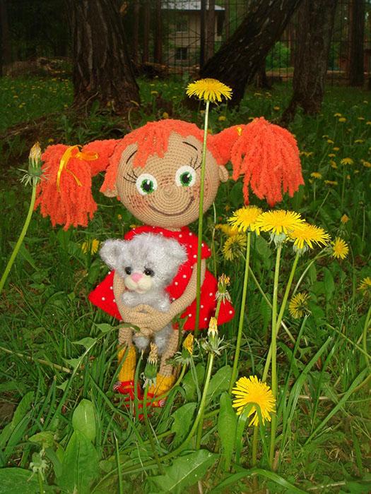 Вязаные куклы Людмилы Ореховой (г. Ступино)