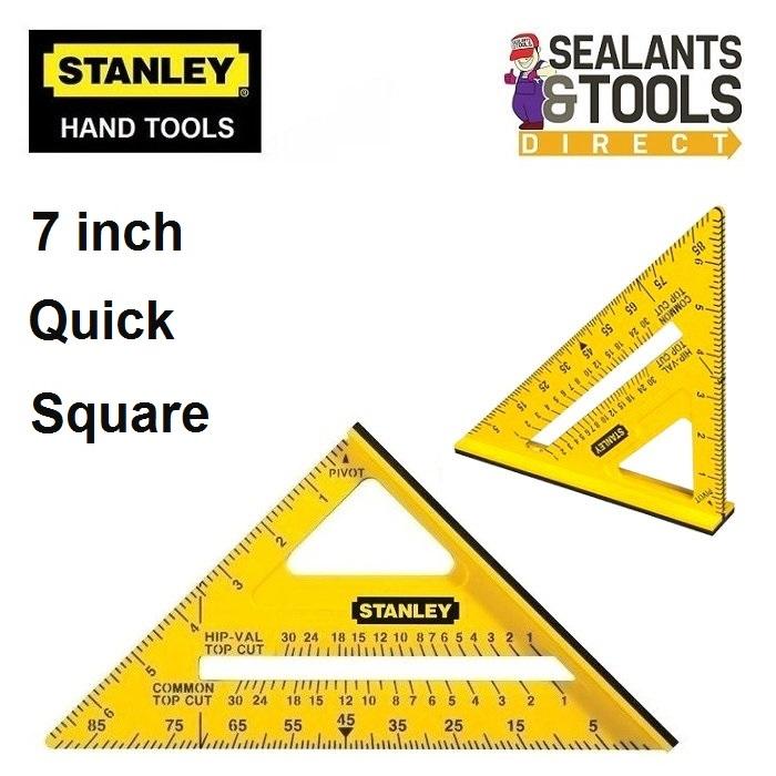 Stanley 7 inch Hi Vis Quick Carpenters Square