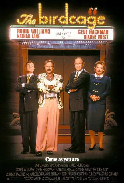 The Birdcage (1996) BluRay 720p 900MB