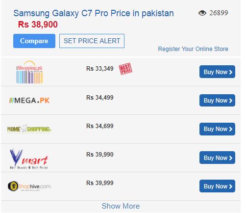 c7 pro price