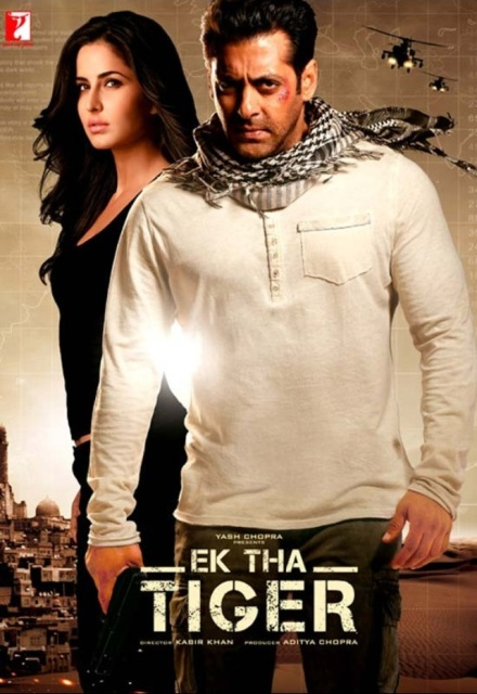 Ek Tha Tiger (2012) BluRay 720p 950MB