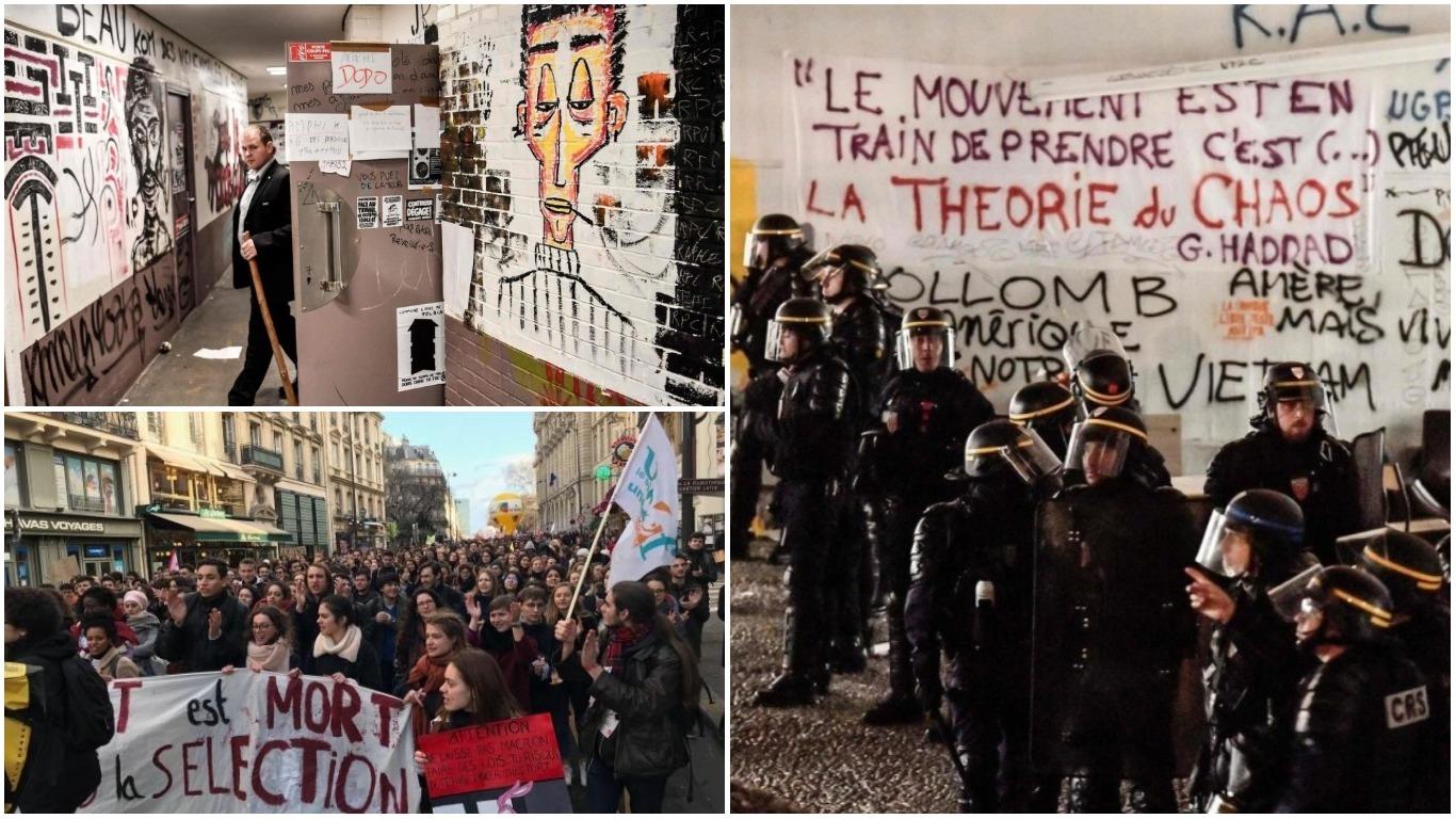 ZBOG NARUŠAVANJA UGLEDA UNIVERZITETA: Predsjednik jednog odjela Sorbone tužio studente koji su protestvovali protiv Macronovih reformi