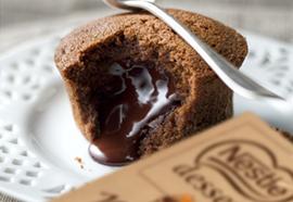 Recette fondant chocolat Nestlé Dessert