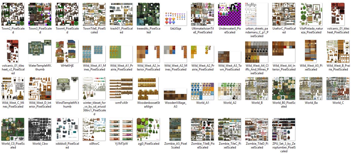 1350 Tilset varié (VX ACE et pour MV) Image32