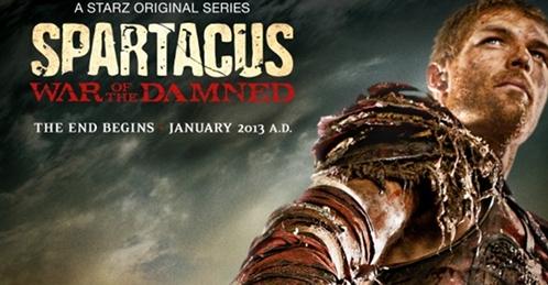 Spartacus 10 епизода, (крај на Трета сезона)