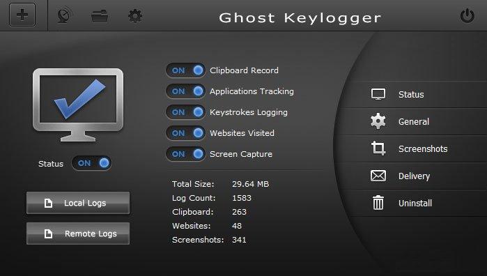 Ghost Keylogger