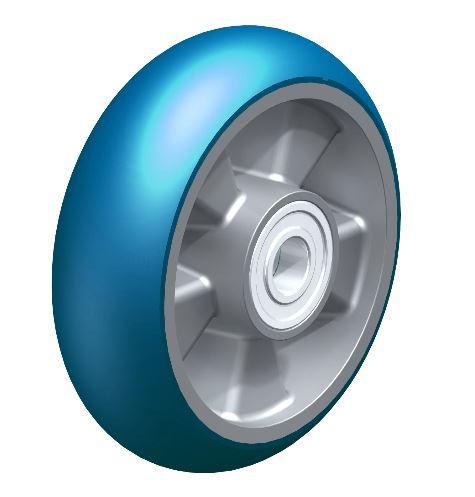 BYALBS 160/20K-CO ALBS 160/20K-CO Blickle  Heavy duty wheel with Blickle Besthane® Soft polyurethane tread with aluminum wheel center thumbnail image
