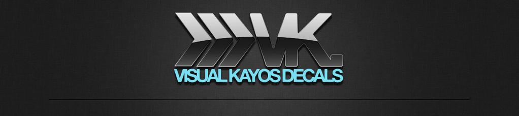 Visual Kayos Decals