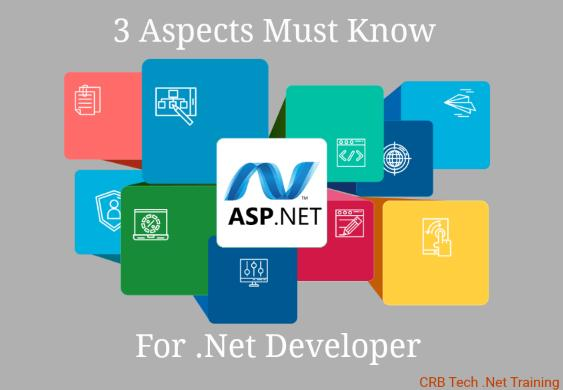 3 Aspects Every ASP.Net Developers Must Know