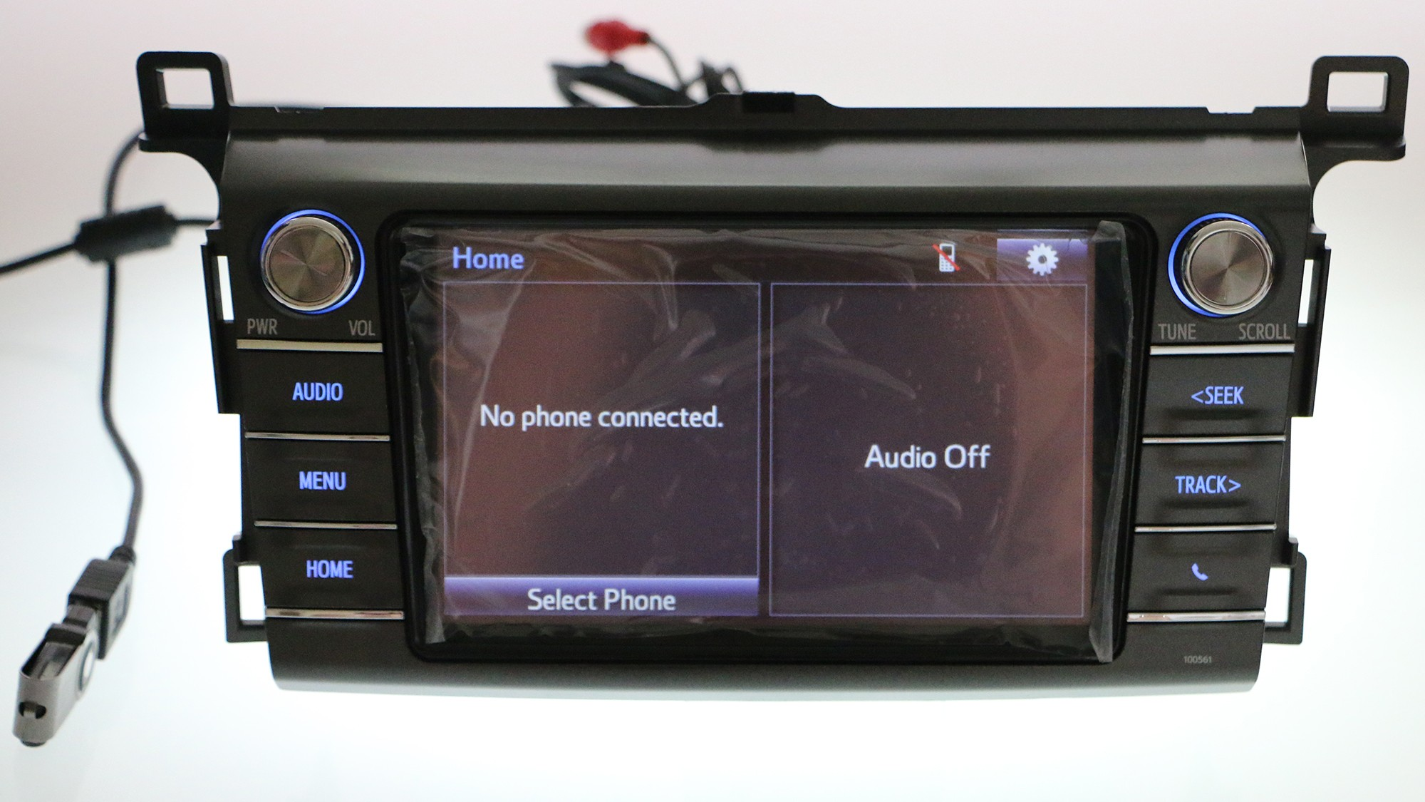 Details About Oem Toyota Rav4 Cd Player Radio 8 Supports Bluetooth Backup Camera 2017