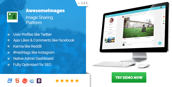 Nulled - Awesome Images v1 2 1 - Photo Sharing Platform | Download