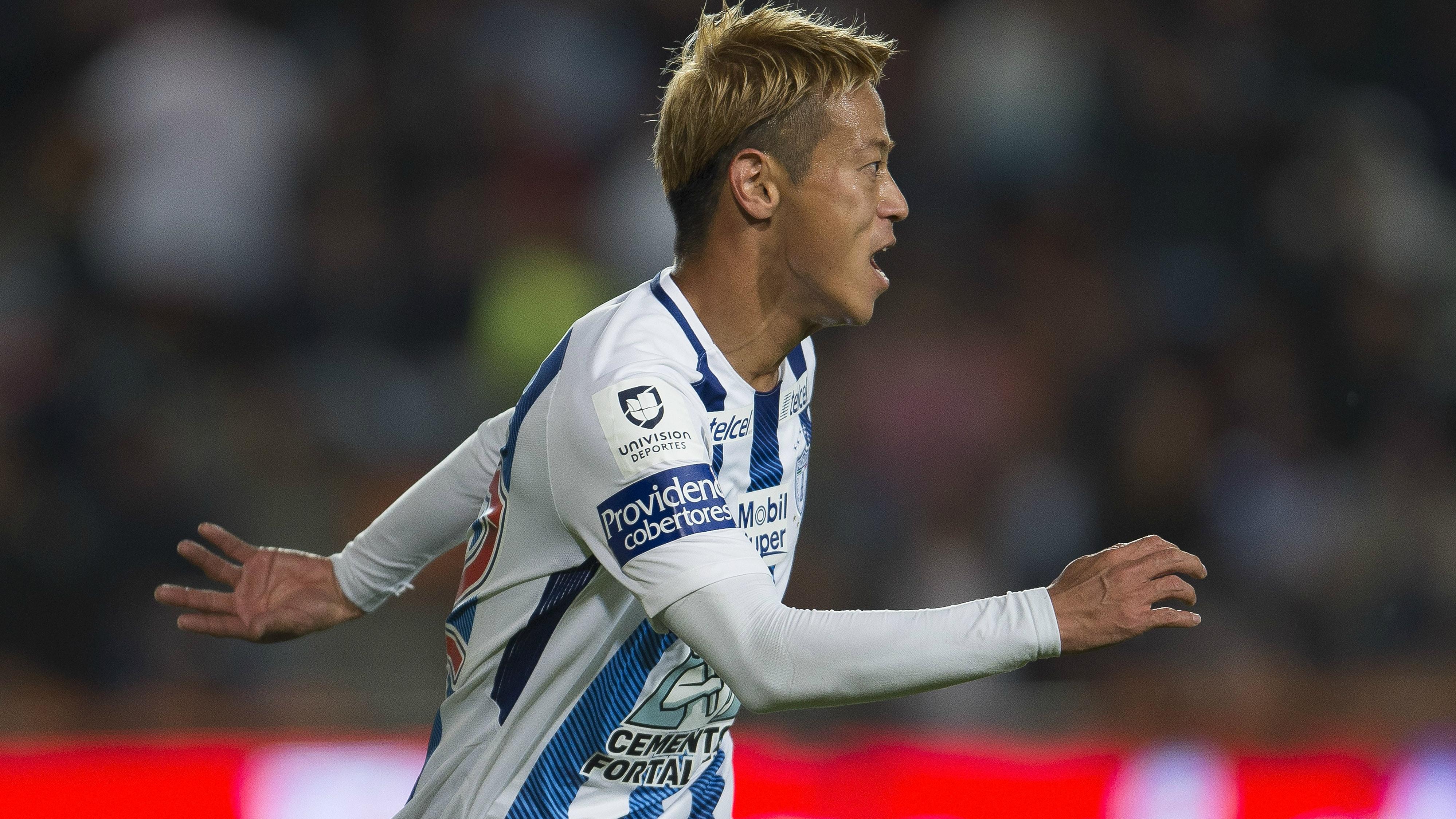 Keisuke Honda scores a majestic golazo as Pachuca defeats Club