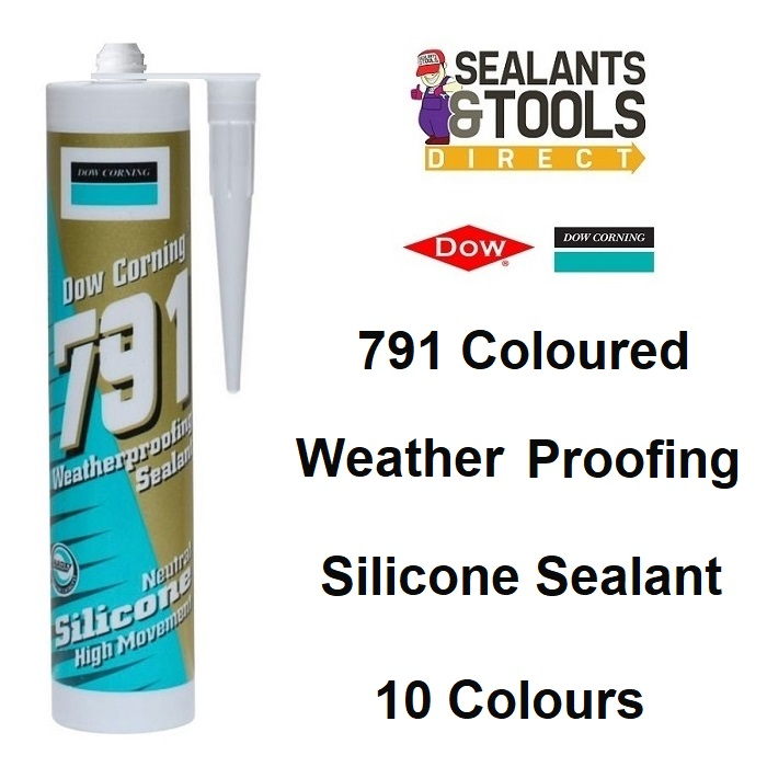 Dow Corning 791 Weatherproofing Low Mod Silicone Sealant