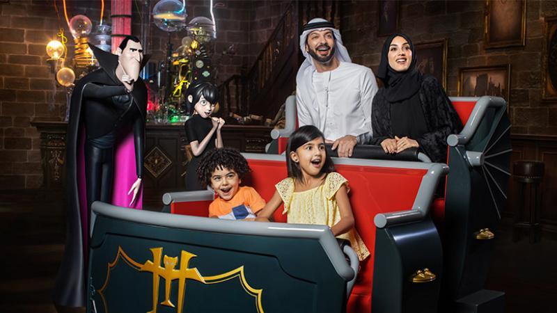 Hotel Transylvania ride at Dubai Parks and Resorts