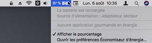 BatteryMenue 2
