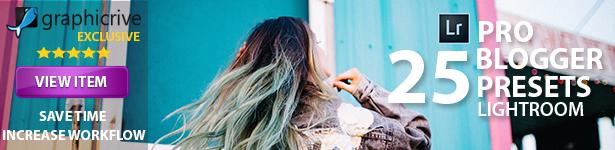 Orange Instagram Blogger Presets - 8