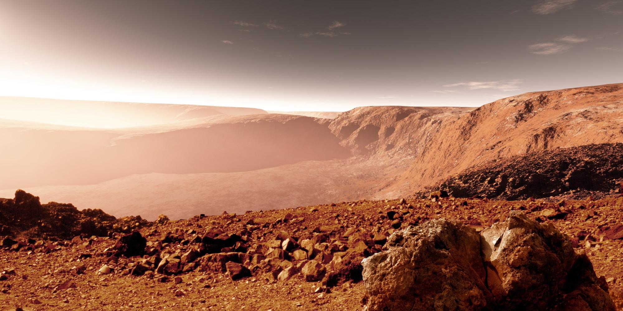 Жизнь на древнем Марсе могла процветать под его поверхностью