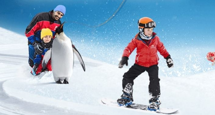 Snow Plus  Polar Express Pass  Ski Dubai