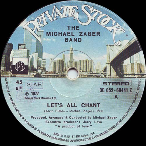 (Disco, Funk, Soul) [12] [24 / 96] Michael Zager Band - Lets All Chant / Love Express - 1978, FLAC (tracks)