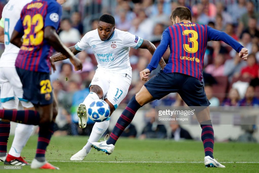 صور مباراة : برشلونة - PSV إندهوفن 4-0 ( 18-09-2018 )  2