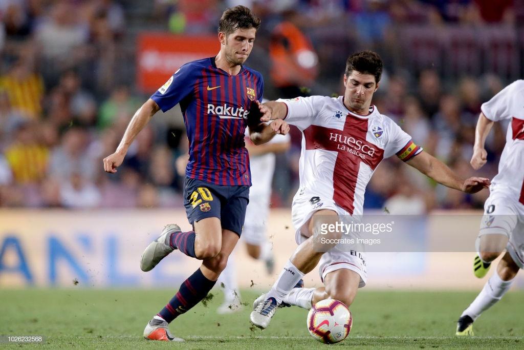 صور مباراة : برشلونة - هويسكا 8-2 ( 02-09-2018 )  R5