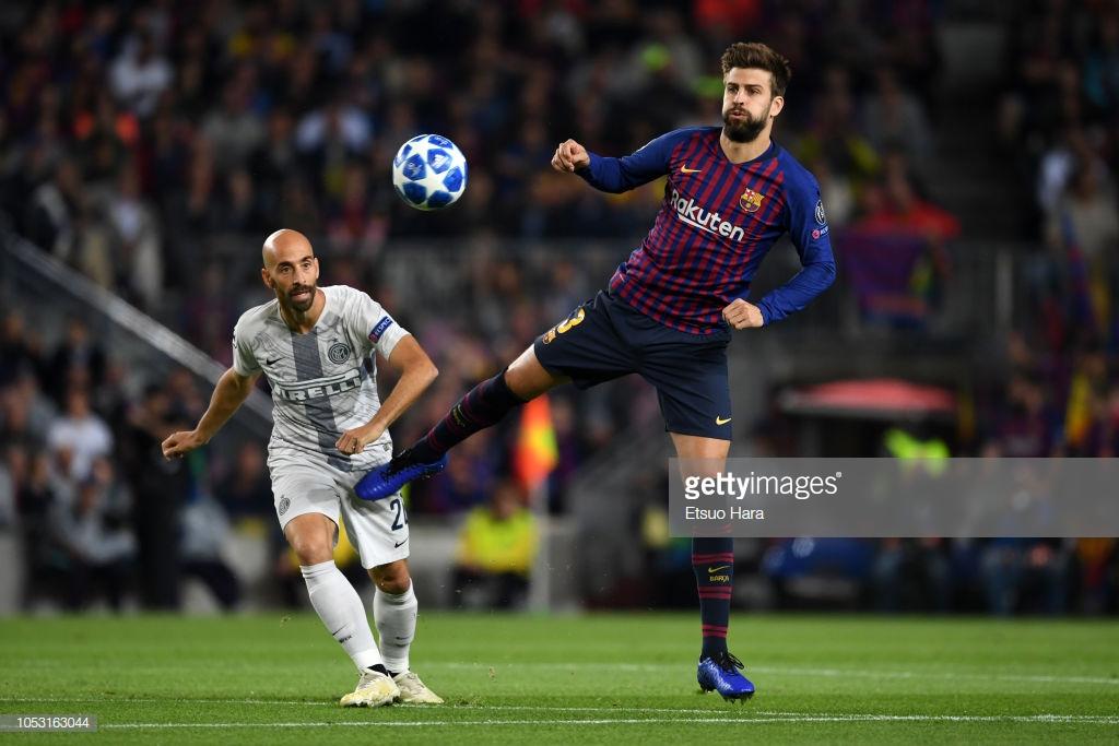 صور مباراة : برشلونة - إنتر ميلان 2-0 ( 24-10-2018 )  L2