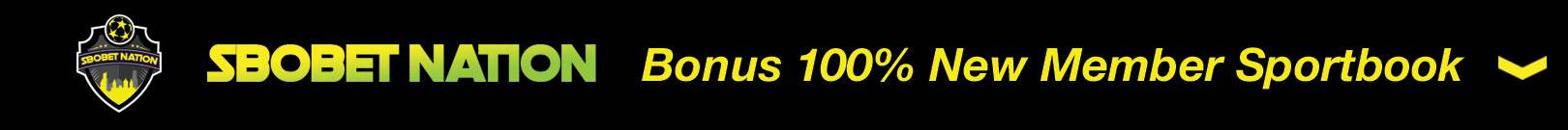 Promo Bonus 100% New Member Sportsbook