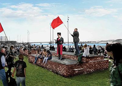 Sanja Ivekovi Monument to Revolution After Mie