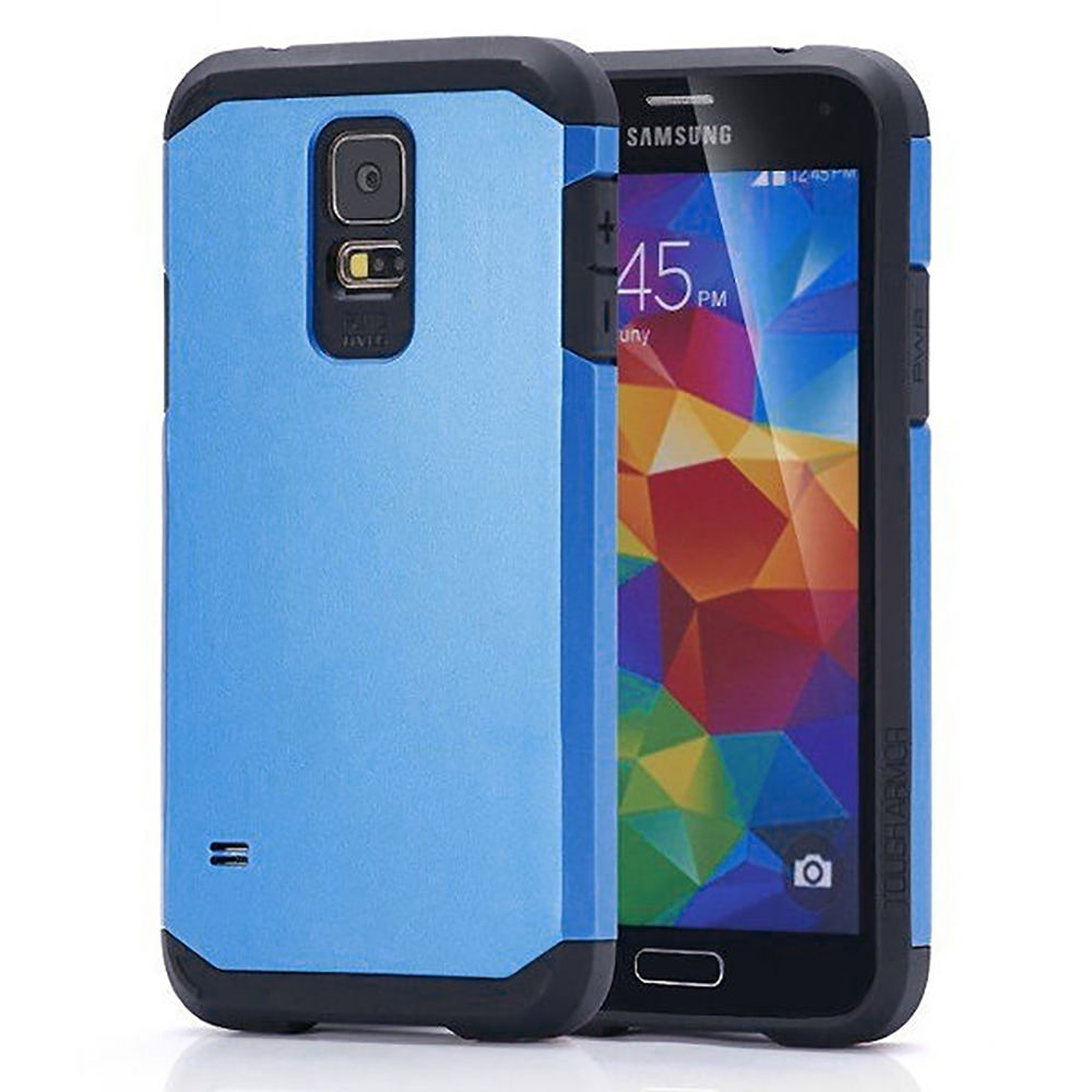 For All Samsung Galaxy Models Slim Strong Durable Hybrid ...