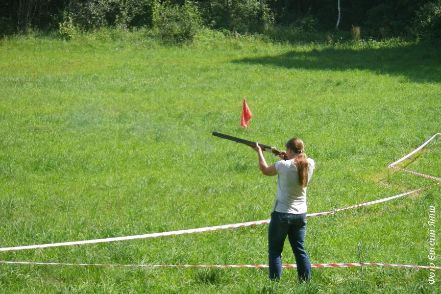 На змаганнях зі стрільби