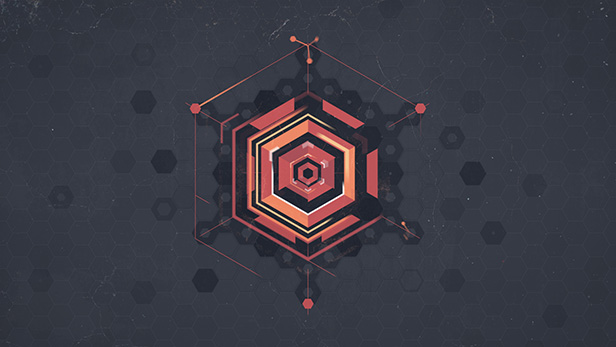 Hexagon Geometric Logo - 11