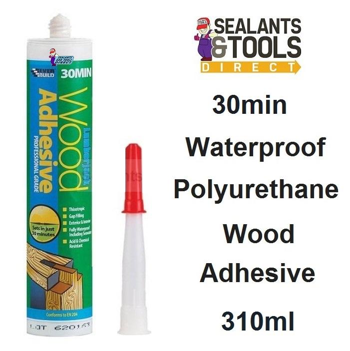 Everbuild Lumberjack Wood Glue 30 Minute 310ml 30MINPU3