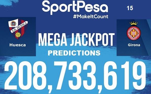Sportpesatips - Huesca vs Girona Predictions & H2H:: Sportpesa Mega Jackpot Predictions