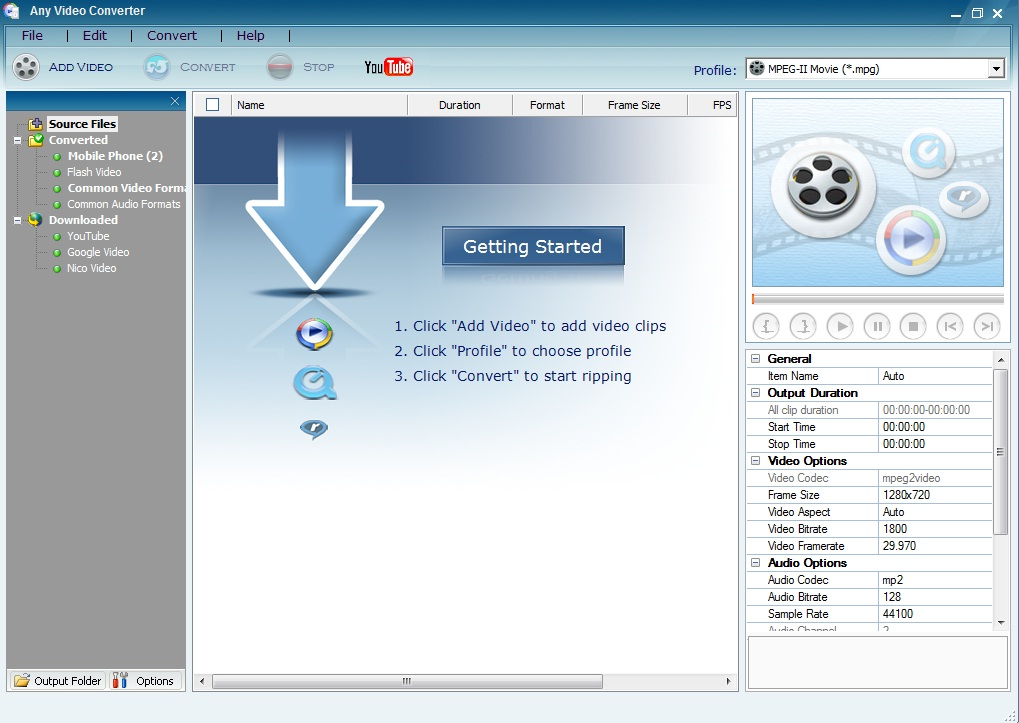 any video converter - convertidor youtube a mp3 gratis