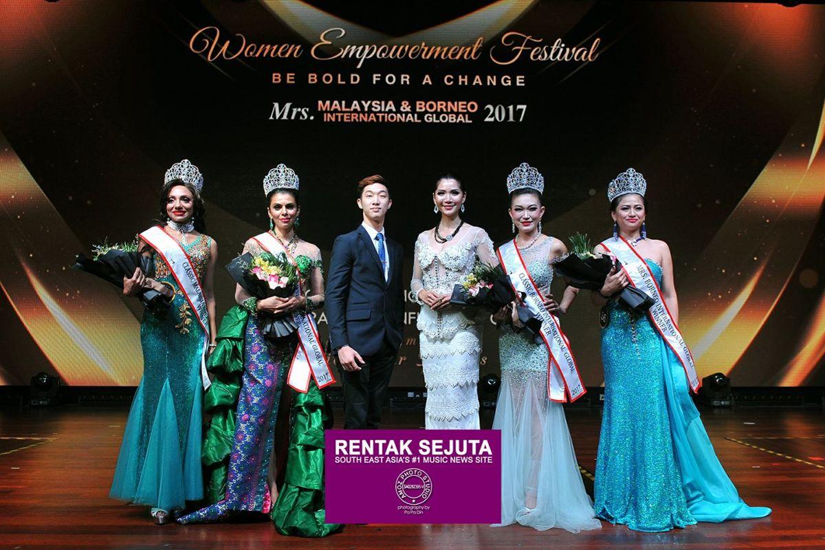 Mrs Malaysia & Borneo International Global 2017 Grand Final | Rentak