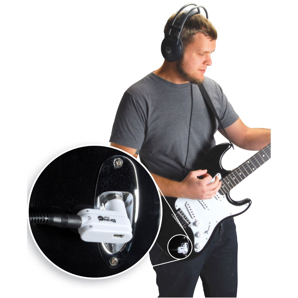 amp guitar headphone amplifier mini rock electric plug donner classic vox amplug ebay