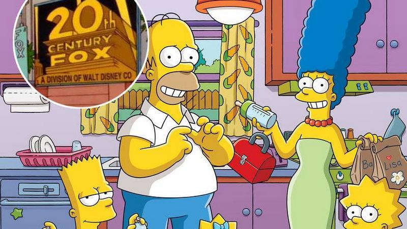 Rùng mình khi biết Simpson cũng đoán trúng thương vụ Disney mua 20th Century Fox