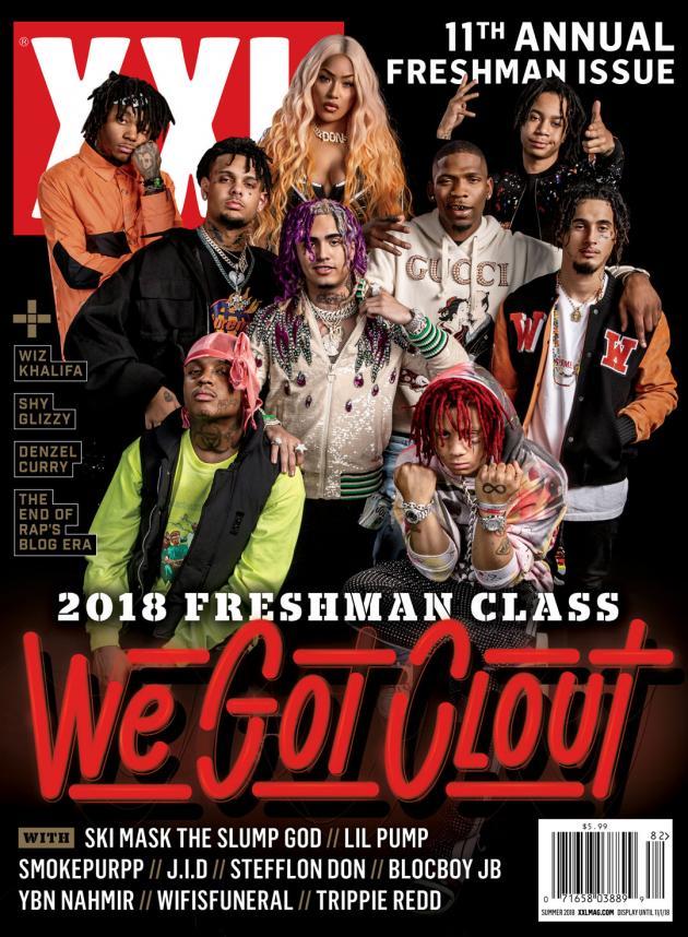 2018 xxl freshman cover