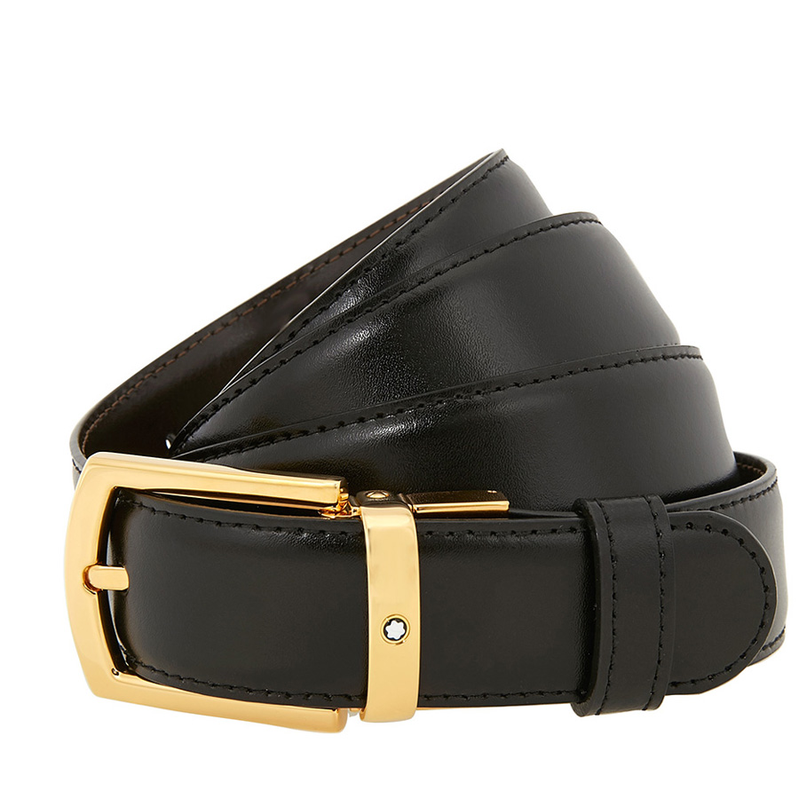 Montblanc Classic Line Reversible Leather Belt 109739