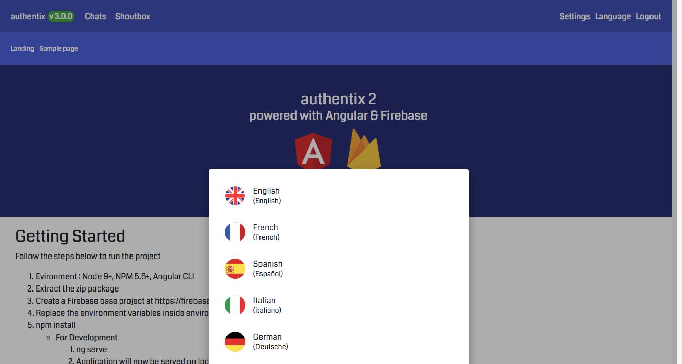 Authentix MVP - Angular 11 Firebase Starter + Bonus Node.js Admin Panel - 2
