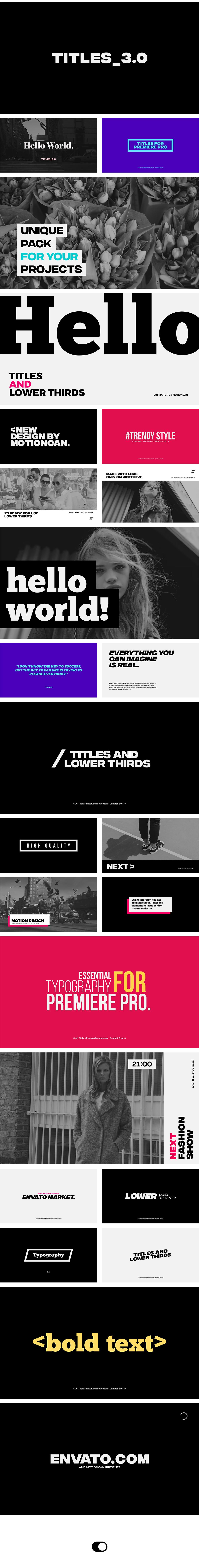 Titles - 3