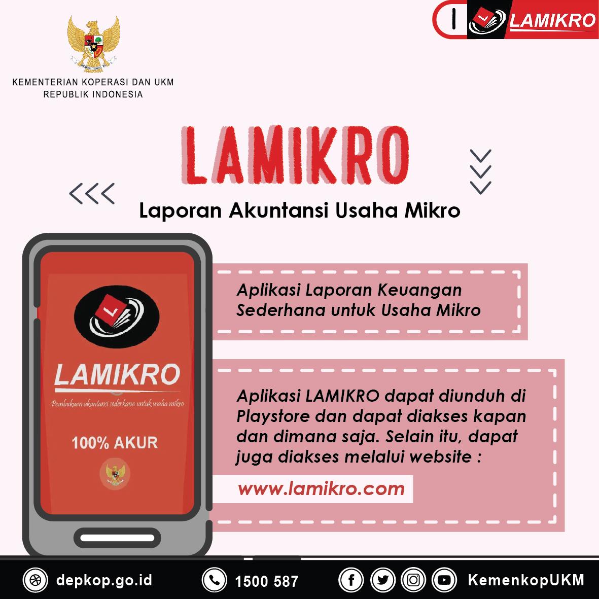 Lamikro Aplikasi Laporan Keuangan Sederhana Untuk Usaha Mikro Produk Ukm Bumn Batik Tulis Warna Alam Ra Ampamp Jakarta Jumlah Di Tanah Air Saat Ini Mencapai 59 Juta Unit Para Pelaku Tersebut Umumnya Belum Memiliki Tata Kelola