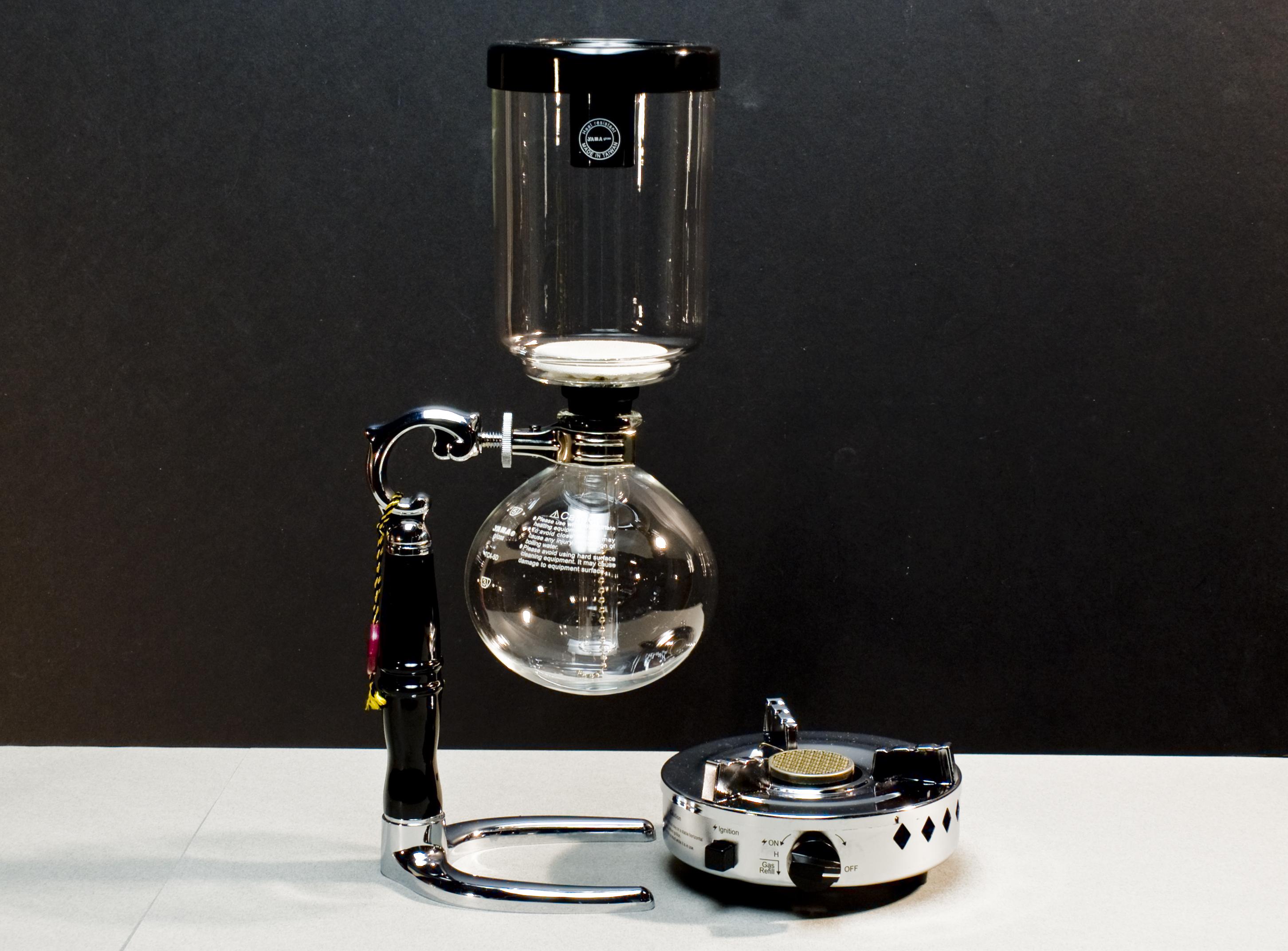 parzenie kawy w syfonie