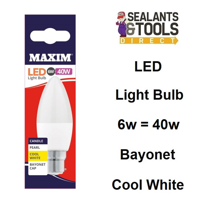 Maxim Low Energy Consumption Led Candle Bulb 40MLCBCCW5