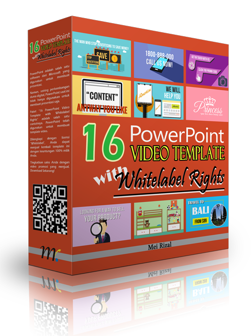16 PowerPoint Video Template with Whitelabel Rights