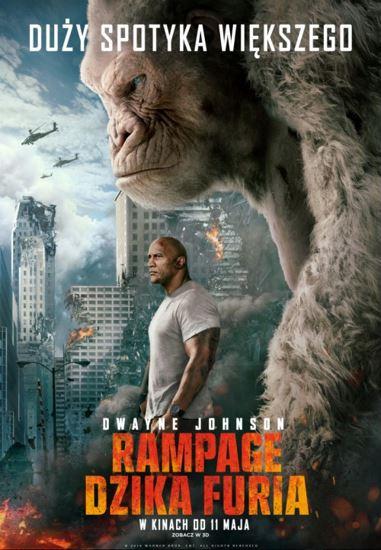 Rampage: Dzika furia / Rampage (2018) PLDUB.BDRip.XviD-KiT | Dubbing PL