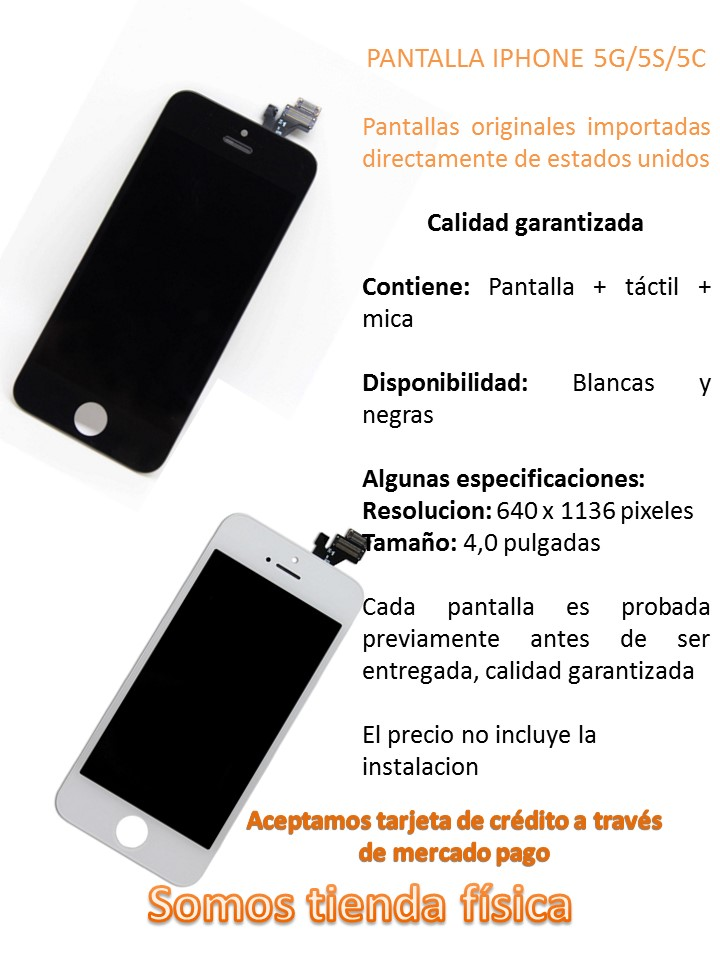 Pantalla Iphone 5 5s 5c